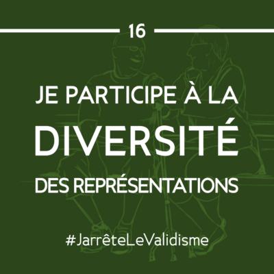 Bonne résolution n°16 : Je participe à la diversité de représentations.